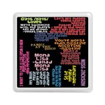 Panic At The Disco Northern Downpour Lyrics Metrolyrics Memory Card Reader (Square)  Front