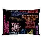 Panic At The Disco Northern Downpour Lyrics Metrolyrics Pillow Case (Two Sides) Front