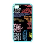 Panic At The Disco Northern Downpour Lyrics Metrolyrics Apple iPhone 4 Case (Color) Front