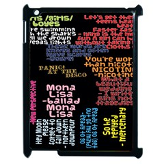 Panic At The Disco Northern Downpour Lyrics Metrolyrics Apple iPad 2 Case (Black)