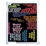 Panic At The Disco Northern Downpour Lyrics Metrolyrics Apple iPad 2 Case (White) Front