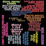 Panic At The Disco Northern Downpour Lyrics Metrolyrics MOM 3D Greeting Card (8x4) Inside