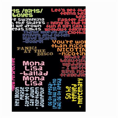 Panic At The Disco Northern Downpour Lyrics Metrolyrics Large Garden Flag (Two Sides)
