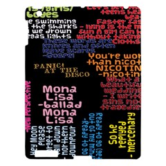 Panic At The Disco Northern Downpour Lyrics Metrolyrics Apple Ipad 3/4 Hardshell Case
