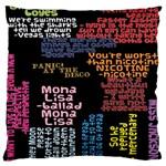 Panic At The Disco Northern Downpour Lyrics Metrolyrics Large Cushion Case (Two Sides) Front