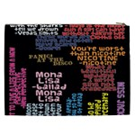 Panic At The Disco Northern Downpour Lyrics Metrolyrics Cosmetic Bag (XXL)  Back