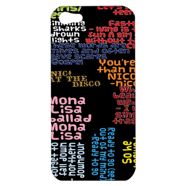 Panic At The Disco Northern Downpour Lyrics Metrolyrics Apple iPhone 5 Hardshell Case