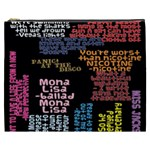Panic At The Disco Northern Downpour Lyrics Metrolyrics Cosmetic Bag (XXXL)  Front