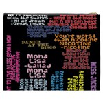 Panic At The Disco Northern Downpour Lyrics Metrolyrics Cosmetic Bag (XXXL)  Back