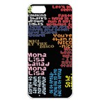 Panic At The Disco Northern Downpour Lyrics Metrolyrics Apple iPhone 5 Seamless Case (White) Front