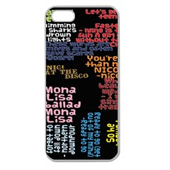 Panic At The Disco Northern Downpour Lyrics Metrolyrics Apple Seamless iPhone 5 Case (Clear)