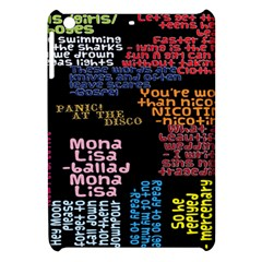 Panic At The Disco Northern Downpour Lyrics Metrolyrics Apple Ipad Mini Hardshell Case