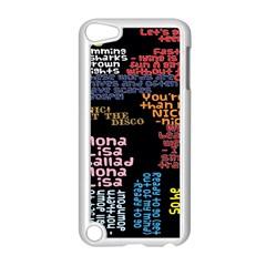 Panic At The Disco Northern Downpour Lyrics Metrolyrics Apple iPod Touch 5 Case (White)