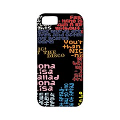 Panic At The Disco Northern Downpour Lyrics Metrolyrics Apple iPhone 5 Classic Hardshell Case (PC+Silicone)