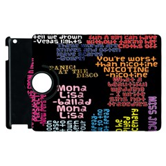 Panic At The Disco Northern Downpour Lyrics Metrolyrics Apple iPad 2 Flip 360 Case