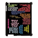 Panic At The Disco Northern Downpour Lyrics Metrolyrics Apple iPad 3/4 Case (Black) Front