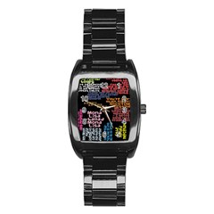 Panic At The Disco Northern Downpour Lyrics Metrolyrics Stainless Steel Barrel Watch