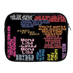 Panic At The Disco Northern Downpour Lyrics Metrolyrics Apple iPad 2/3/4 Zipper Cases