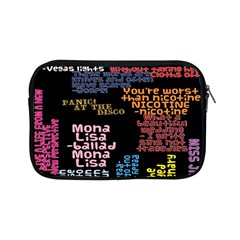 Panic At The Disco Northern Downpour Lyrics Metrolyrics Apple Ipad Mini Zipper Cases