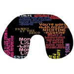 Panic At The Disco Northern Downpour Lyrics Metrolyrics Travel Neck Pillows Front