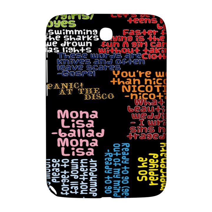 Panic At The Disco Northern Downpour Lyrics Metrolyrics Samsung Galaxy Note 8.0 N5100 Hardshell Case