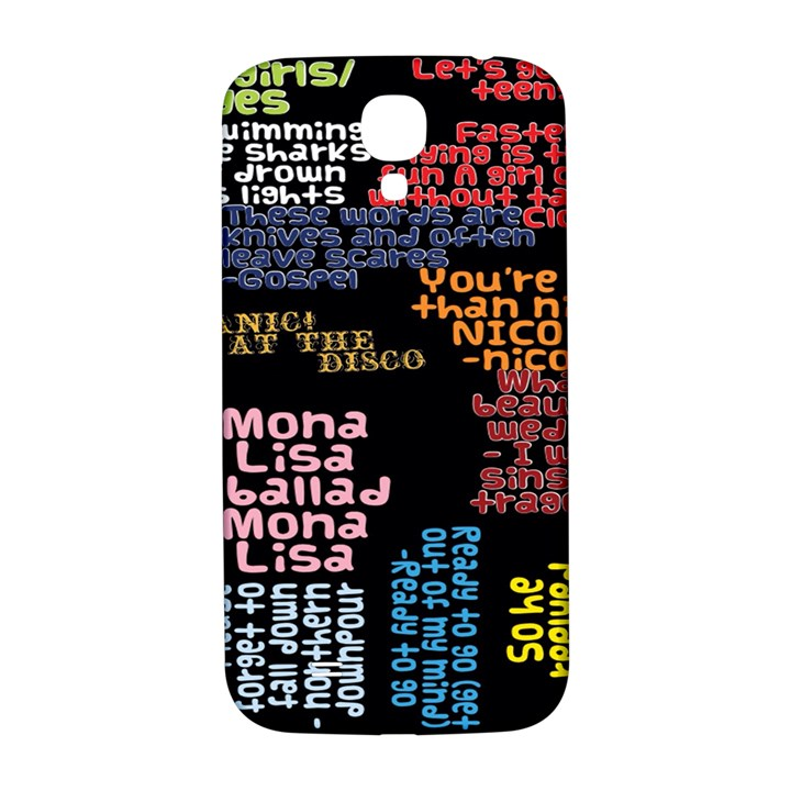 Panic At The Disco Northern Downpour Lyrics Metrolyrics Samsung Galaxy S4 I9500/I9505  Hardshell Back Case