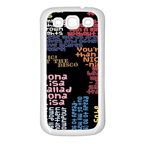 Panic At The Disco Northern Downpour Lyrics Metrolyrics Samsung Galaxy S3 Back Case (White)