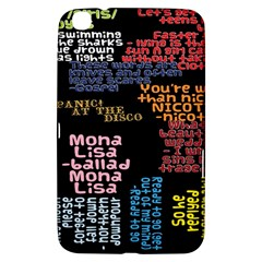 Panic At The Disco Northern Downpour Lyrics Metrolyrics Samsung Galaxy Tab 3 (8 ) T3100 Hardshell Case
