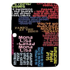 Panic At The Disco Northern Downpour Lyrics Metrolyrics Samsung Galaxy Tab 3 (10.1 ) P5200 Hardshell Case