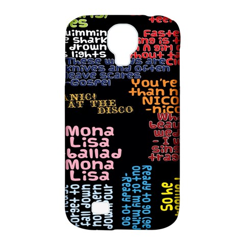 Panic At The Disco Northern Downpour Lyrics Metrolyrics Samsung Galaxy S4 Classic Hardshell Case (PC+Silicone)