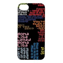 Panic At The Disco Northern Downpour Lyrics Metrolyrics Apple Iphone 5s/ Se Hardshell Case