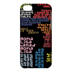 Panic At The Disco Northern Downpour Lyrics Metrolyrics Apple iPhone 5C Hardshell Case