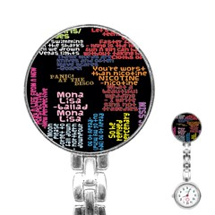Panic At The Disco Northern Downpour Lyrics Metrolyrics Stainless Steel Nurses Watch