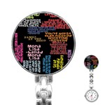 Panic At The Disco Northern Downpour Lyrics Metrolyrics Stainless Steel Nurses Watch Front
