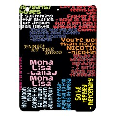 Panic At The Disco Northern Downpour Lyrics Metrolyrics Ipad Air Hardshell Cases