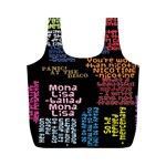 Panic At The Disco Northern Downpour Lyrics Metrolyrics Full Print Recycle Bags (M)  Back