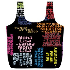 Panic At The Disco Northern Downpour Lyrics Metrolyrics Full Print Recycle Bags (L)