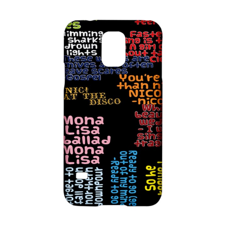 Panic At The Disco Northern Downpour Lyrics Metrolyrics Samsung Galaxy S5 Hardshell Case