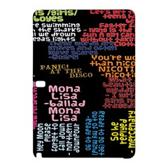 Panic At The Disco Northern Downpour Lyrics Metrolyrics Samsung Galaxy Tab Pro 12 2 Hardshell Case