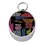 Panic At The Disco Northern Downpour Lyrics Metrolyrics Mini Silver Compasses Front