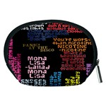 Panic At The Disco Northern Downpour Lyrics Metrolyrics Accessory Pouches (Medium)  Back