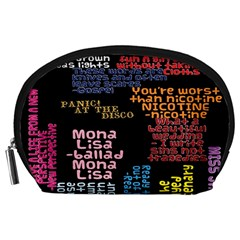Panic At The Disco Northern Downpour Lyrics Metrolyrics Accessory Pouches (Large)