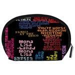 Panic At The Disco Northern Downpour Lyrics Metrolyrics Accessory Pouches (Large)  Back