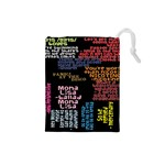 Panic At The Disco Northern Downpour Lyrics Metrolyrics Drawstring Pouches (Small)  Front