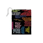 Panic At The Disco Northern Downpour Lyrics Metrolyrics Drawstring Pouches (Small)  Back