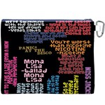Panic At The Disco Northern Downpour Lyrics Metrolyrics Canvas Cosmetic Bag (XXXL) Back