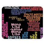 Panic At The Disco Northern Downpour Lyrics Metrolyrics Double Sided Flano Blanket (Large)  80 x60 Blanket Front