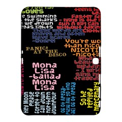 Panic At The Disco Northern Downpour Lyrics Metrolyrics Samsung Galaxy Tab 4 (10 1 ) Hardshell Case