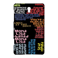 Panic At The Disco Northern Downpour Lyrics Metrolyrics Samsung Galaxy Tab S (8.4 ) Hardshell Case