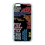 Panic At The Disco Northern Downpour Lyrics Metrolyrics Apple Seamless iPhone 6/6S Case (Color) Front